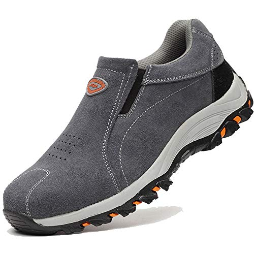 Eclimb Women's Safety Work Shoes Steel-Toe Athletic Shoes ()
