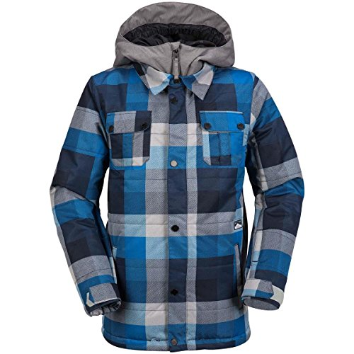 Volcom Big Boys' Neolithic Insulated Jacket, Blue, L by Volcom