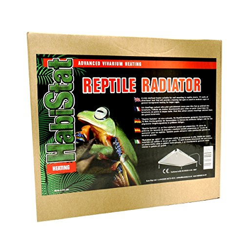 Euro Rep Habistat Reptile Radiator (75W) (75W) (Multicolored) by Euro Rep
