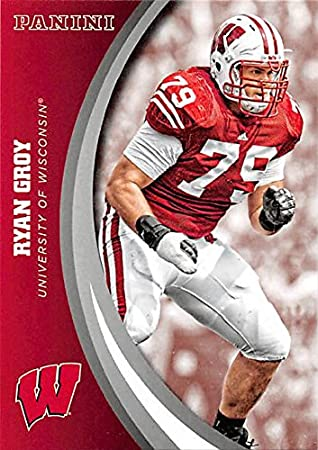 size 40 929b1 5400b Ryan Groy football card (Wisconsin Badgers) 2015 Panini Team ...