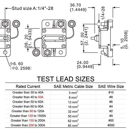 60 Amp Circuit Breaker Manual Power Fuse Reset by iztor (Image #6)