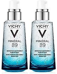 Vichy Minéral 89 Daily Skin Booster Serum and Moisturizer, 1.69 Fl. Oz, 2-Pack