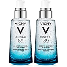 Vichy Minéral 89 Daily Skin Booster Serum and Moisturizer, 1.69 Fl. Oz, 2-Pack