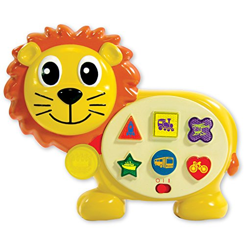 Early Learning On The Go Lion Electronic Learning Toy with Six Sing-Along Melodies