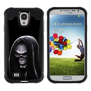 Suave TPU Caso Carcasa de Caucho Funda para Samsung Galaxy S4 I9500 / Grim Reaper Hooded Death / STRONG