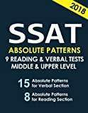 SSAT 9 Reading & Verbal Tests: +20 Hidden Rules in Verbal (SAT HACKERS) (Volume 1)