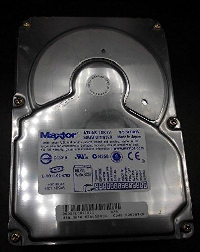 Maxtor Atlas 10K IV 36.7GB 10000RPM Ultra-320 SCSI 68-Pin 8MB Cache 3.5-inch Internal Hard Drive ( 8B036L002 ) (10000rpm 68 Pin Scsi)