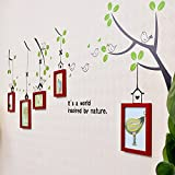 wall photo frames Photo Wall, Small Frame Wall, Combination Creative Baby Photo Wall, Sticker Frame Wall (Color : 4#)