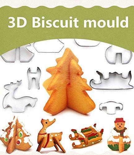 4 Pcs Cakes Decorating Tools DIY Fondant Butterfly Mold - 6
