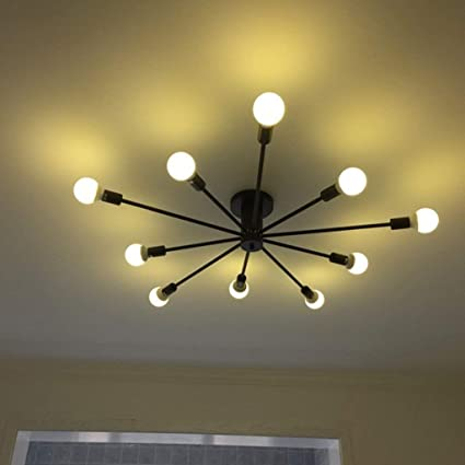 indoor lighting designer apartment interior aoli the modern lighting of metal chandelier flushmounted designer 10 ceiling lamp amazoncom flush