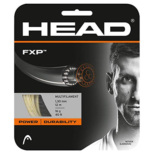 HEAD FXP 16g Tennis String, Natural