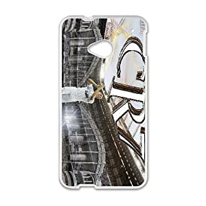 Unique Design Cases Jtfis HTC One M7 Cell Phone Case Cristiano Ronaldo Printed Cover Protector