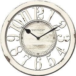 Rustic Antique Contour Wall Clock 10