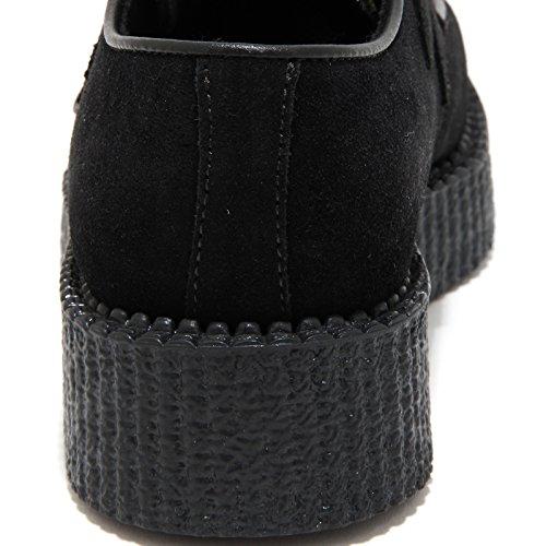 mujer negro Negro Underground de Zapatos cordones para negro nHpFw