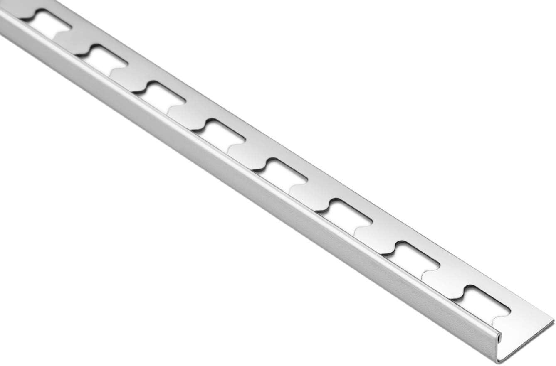 Au Choix 2 M/ètres Carreaux Ferroviaires Forme L Acier Inox Hexim 10mm HEX100