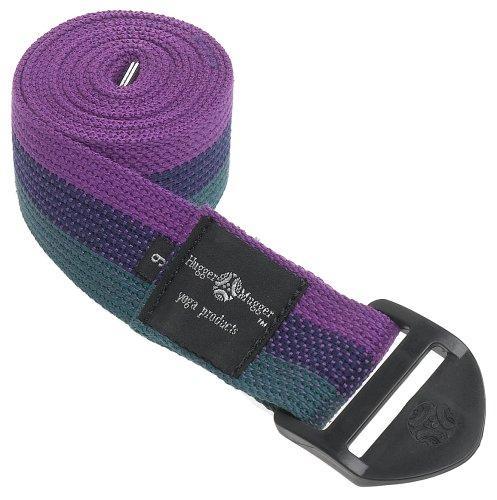 Hugger Mugger Cinch Yoga Strap (Multi-Stripe, 6 ft.)