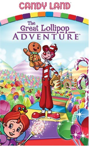 - Candy Land - The Great Lollipop Adventure [VHS]