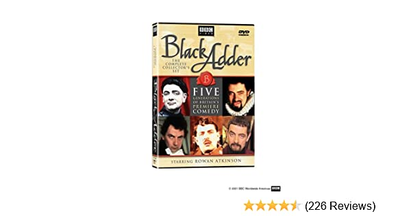 082b43d37b7 Amazon.com: Black Adder: The Complete Collector's Set: Rowan ...