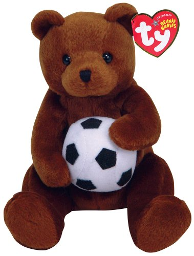 defa7139 Amazon.com: Ty Sweeper - Soccer Bear: Toys & Games