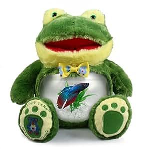 Teddy Tank Frog Betta Fish Tank 8-Piece Premium Package