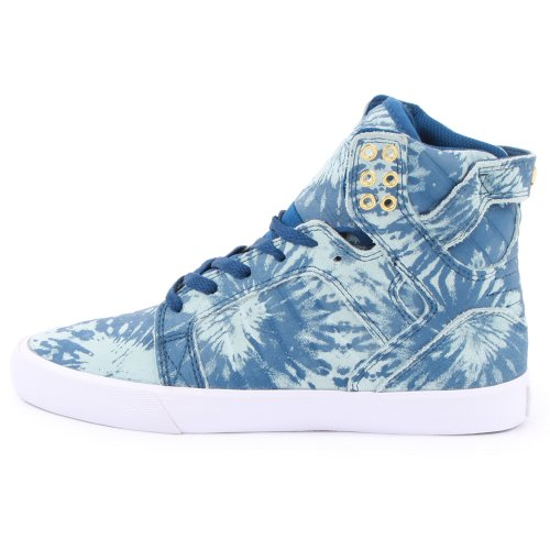 Supra Wmns Muska Skytop Navy Blue Wash Blue
