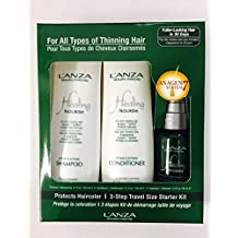 Lanza Healing Haircare Nourish 3 Step Starter Kit - Travel Size by L'anza