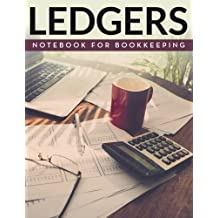 Ledger Notebook For Bookkeeping