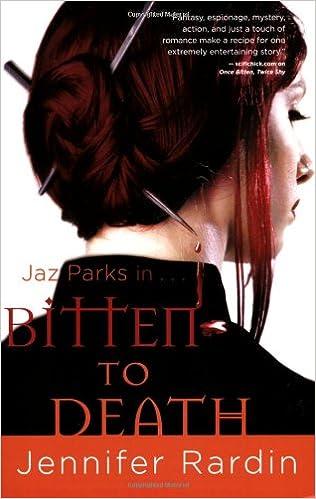 Book Bitten to Death (Jaz Parks)