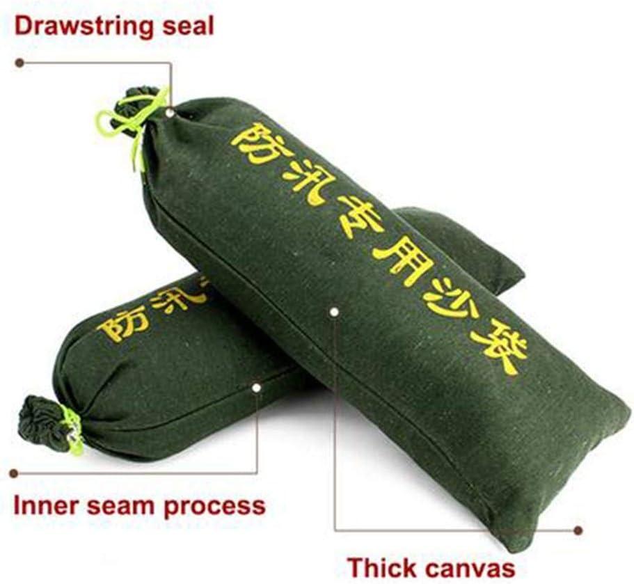 5PCS Long-Lasting Sandbag with Drawstring Sealing Thickening Encryption Flood Water Barrier