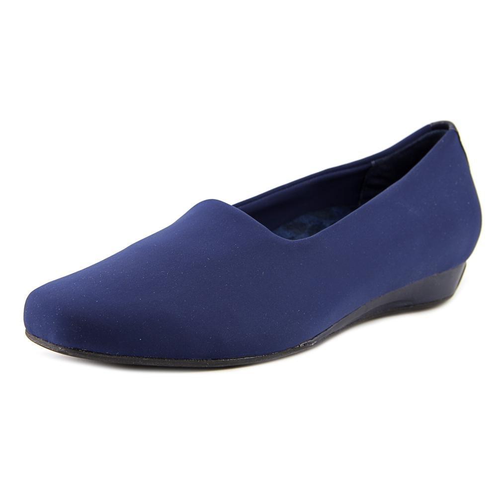 Vionic Treat Powell - Womens Wedge Shoes Navy - 7.5 Medium
