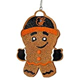 Baltimore Orioles Gingerbread Man Ornament
