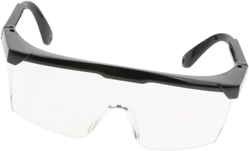 Gafas De Seguridad De Laboratorio Gafas De Protección Ppe Lentes ópticas Negro Reemplazable - Lente clara, marco negro