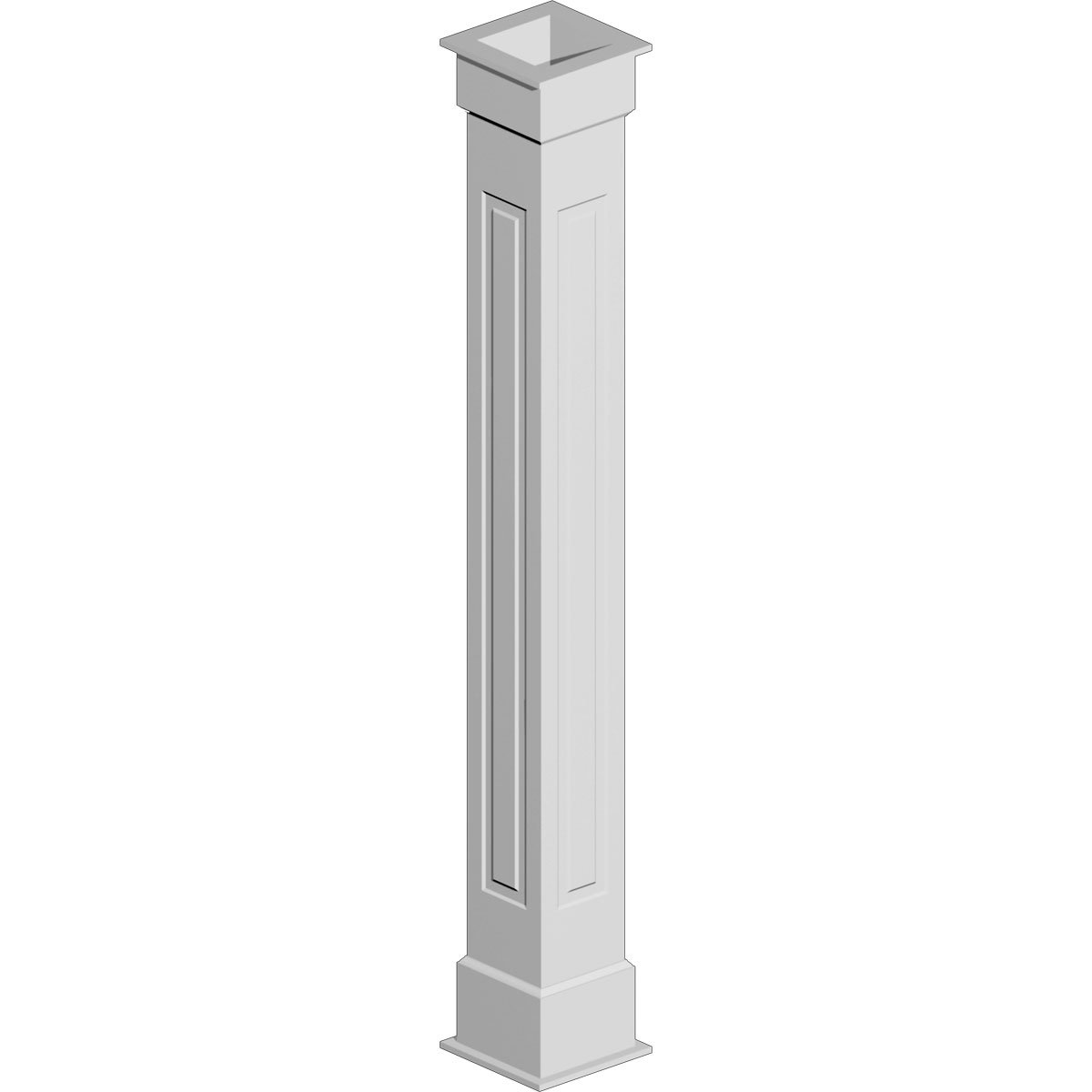 COLUMN WRAP KIT 10X96 RP 1BX NON TAPERED RAISED PANEL by Fypon (Image #1)