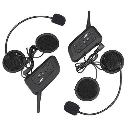 Helmet Wireless Bluetooth Intercom High-power Headset 6 Riders 1200m Waterproof Interphone 2 Pack by Eroboo (Image #3)