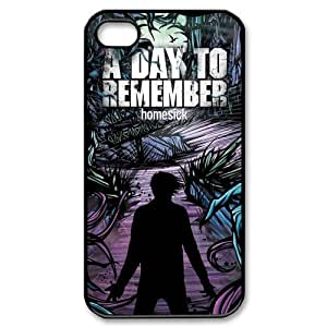 Customize Famous Rock Band A Day To Remember Back Case for iphone4 4S JN4S-1705 Kimberly Kurzendoerfer