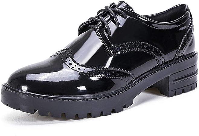 es Leather Shoes Bullock Shoes