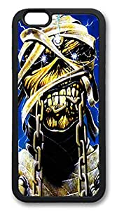 iphone 6 4.7inch Case and Cover Iron Maiden TPU Silicone Rubber Case Cover for iphone 6 4.7inch Black