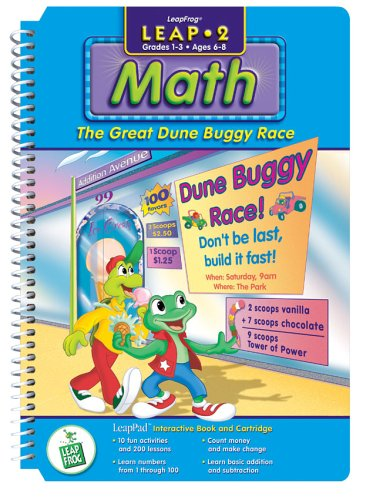 "LeapFrog LeapPad: Leap 2 Math - ""The Great Dune Buggy Rac..."