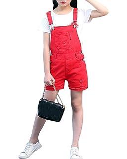 Schiesser M/ädchen Fashion Blog Latzhose Overall