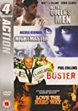 All the Queen's Men / Nightmaster / Buster / Love the Hard Way (Action Collection) [DVD]