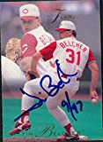 Signed Belcher, Tim (Cincinnati Reds) 1993 Fleer Baseball Card autographed