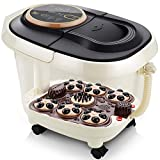 Foot Spa Bath Massager With Remote Control And Adjustable Time And Temperature, Foot