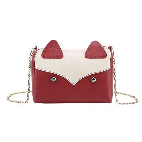 SimpleLife Leather Messenger Bag School Satchel Bag, Womens ...