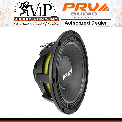 PRV Audio 10MR1003-NDY 10'' Neodymium Professional Midbass 8 Ohm