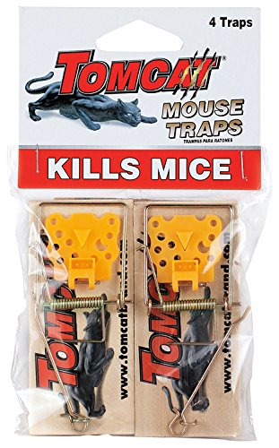 Tomcat Wooden Mouse Traps, 8-Pack (Not Sold in AK)