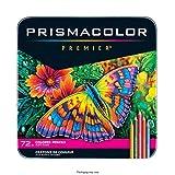 Prismacolor Premier Colored Pencils, Soft Core, 72