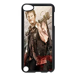 C-EUR Customized Print The Walking Dead Pattern Hard Case for iPod Touch 5