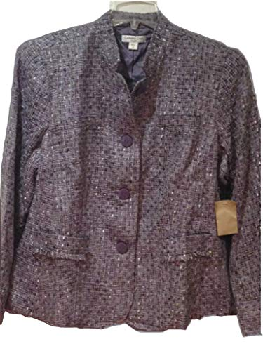 - Coldwater Creek Women's Fall Winter Business Tweed Boucle Jacket Plus 2X 3X $109.95 (24W)