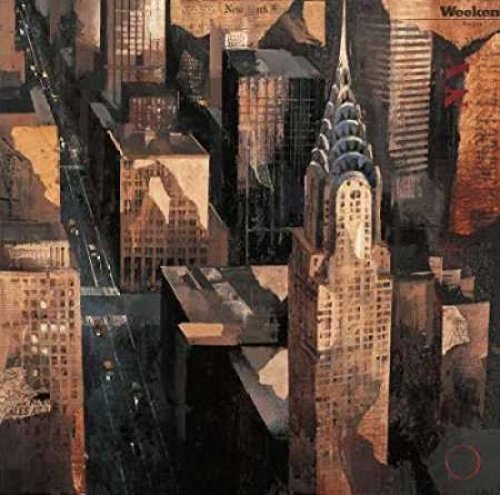 Chrysler Building View Poster Print By Marti Bofarull  12 X 12