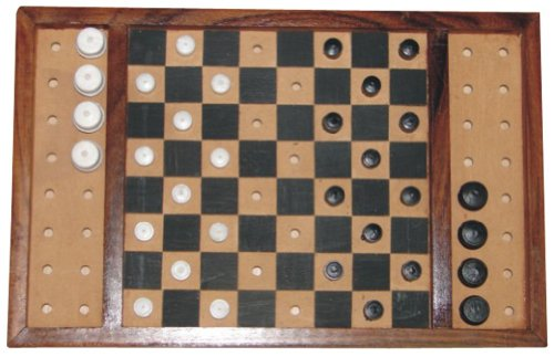 The Braille Store Checkers Set, Classic
